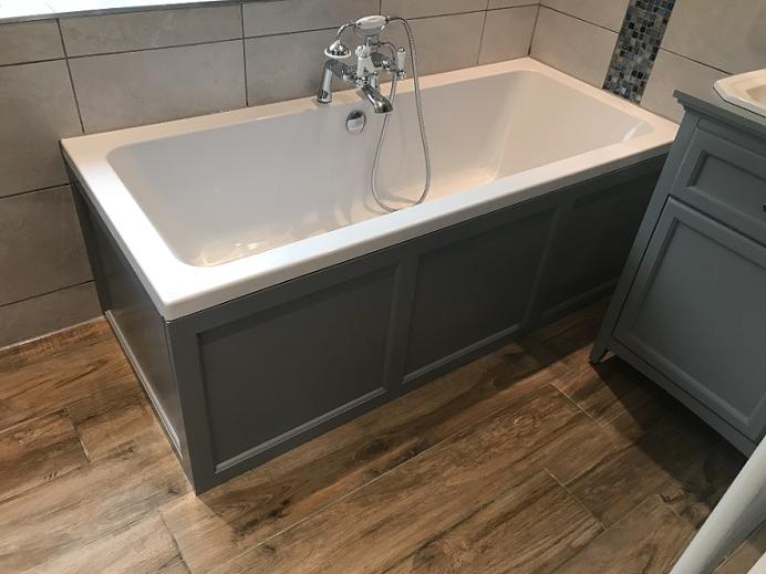 Complete Bathroom renovation in leatherhead