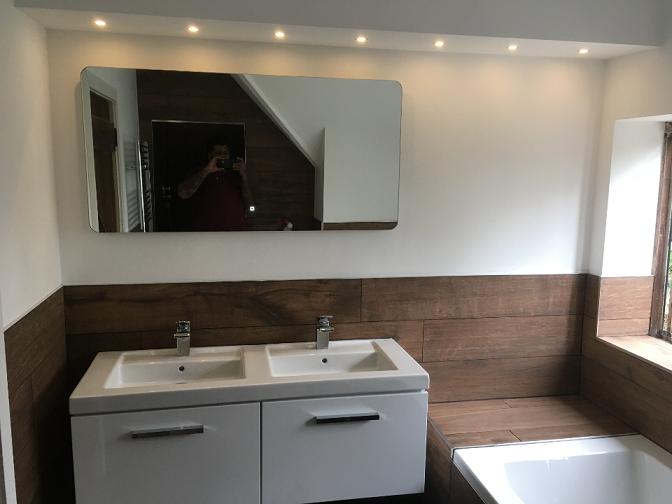 Complete bathroom Renovation In Wokingham
