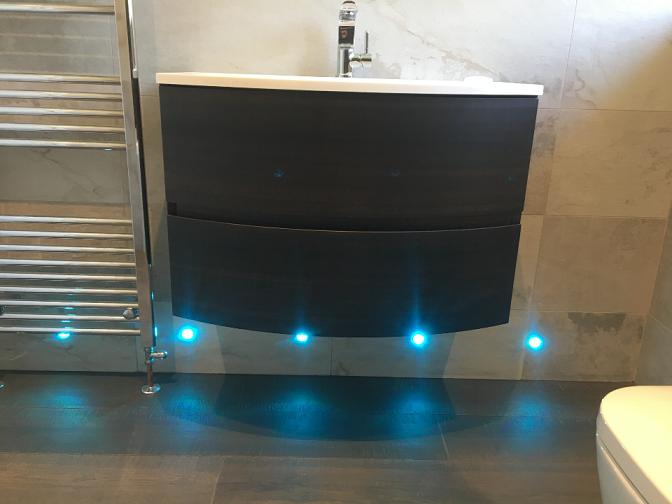 Complete bathroom renovation In West End Surrey
