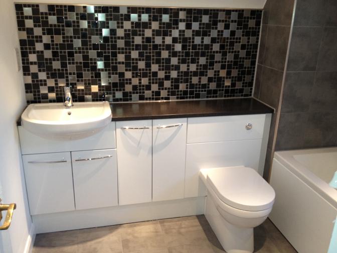 Complete bathroom renovation in Godalming