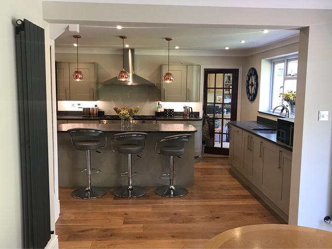 Lightwater kitchen full renovation