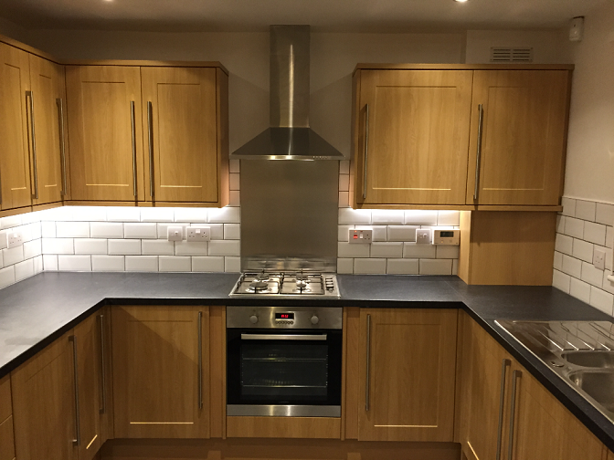 Howdens kitchen fitted in Newbury. Complete renovation of Kitchen