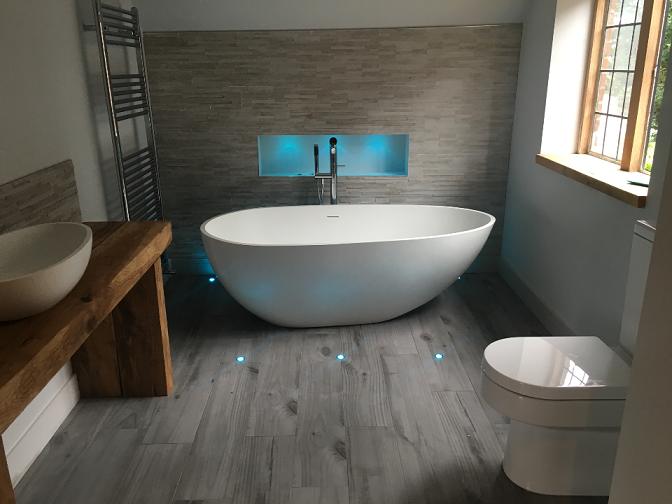 Large En Suite Created in Wokingham Berkshire