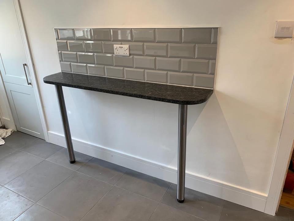 Modern white kitchen renovation 2